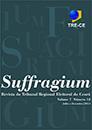 Publicação - Revista - Revista Suffragium nº 12 - julho a dezembro/2015 (2015) Revista do Tribunal Regional Eleitoral do Ceará
